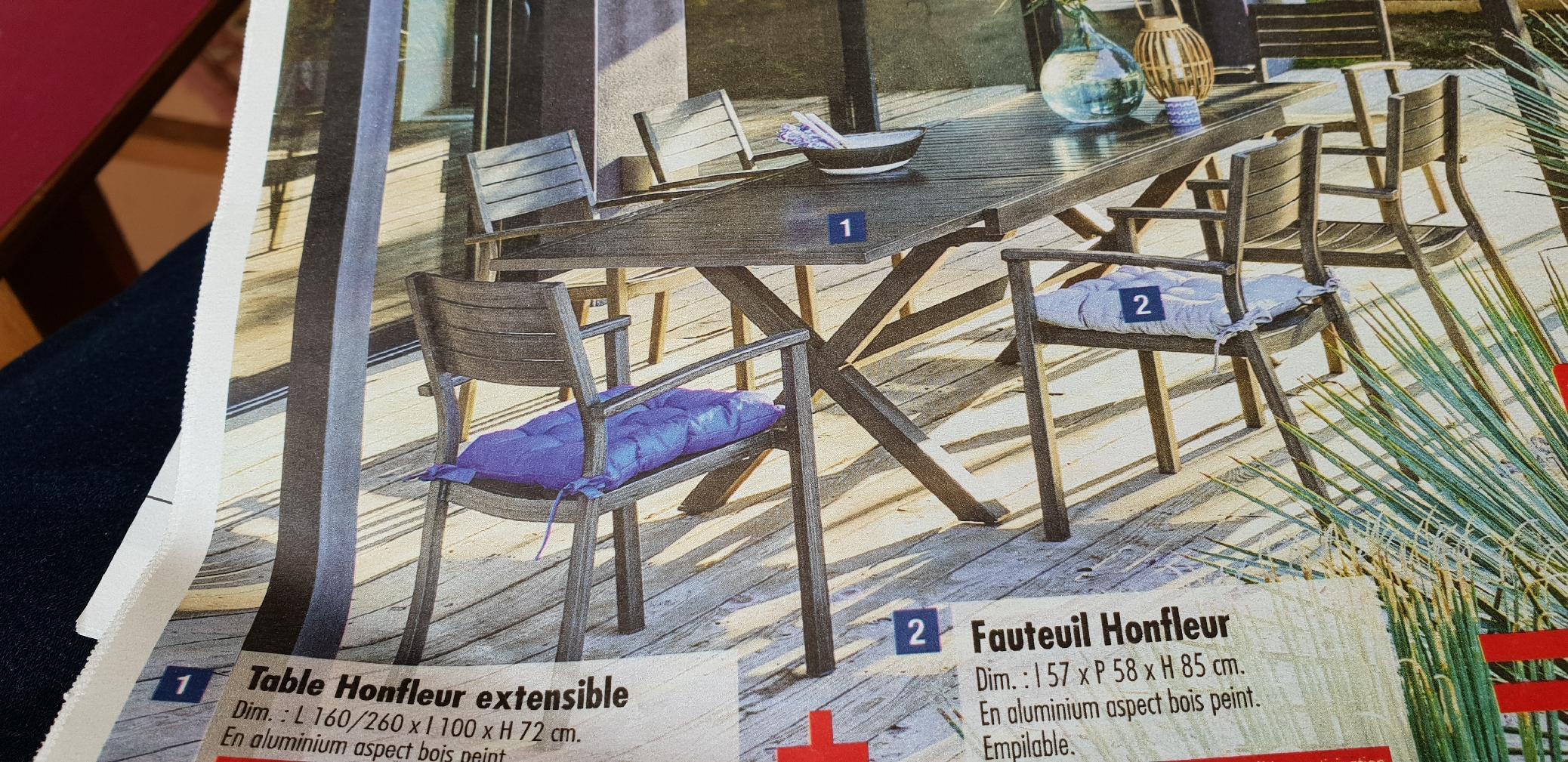 Le nom de Honfleur pour un salon de jardin..! - Honfleur-Infos