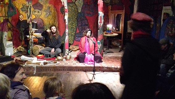 Amina Annibi a chanté à la Forge - Honfleur Infos